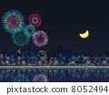 Summer evening fireworks 8052494