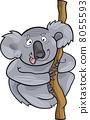 koala, bear, mammal 8055593