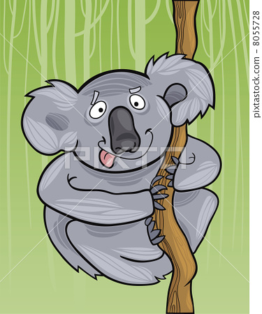 cartoon koala 8055728