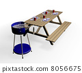 table,bench,barbecue 8056675