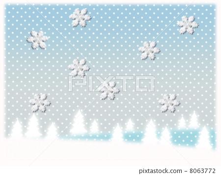 Snowy landscape 8063772