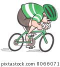 자전거, 손그림, 코믹 8066071