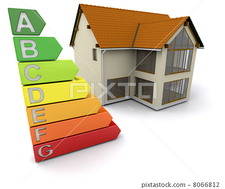 House with energy ratings 8066812