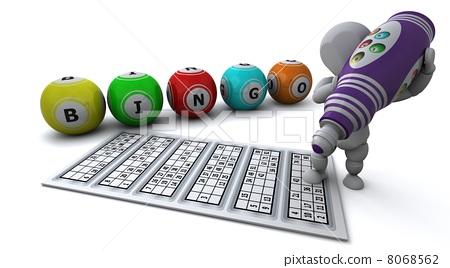 man playing bingo 8068562