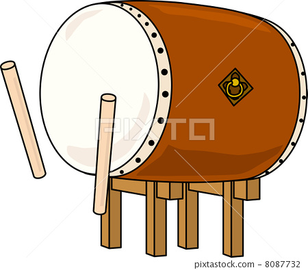 Japanese drum 8087732