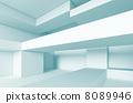 modern, interior, 3d 8089946