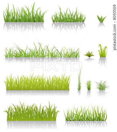 Green Grass Set 8093509