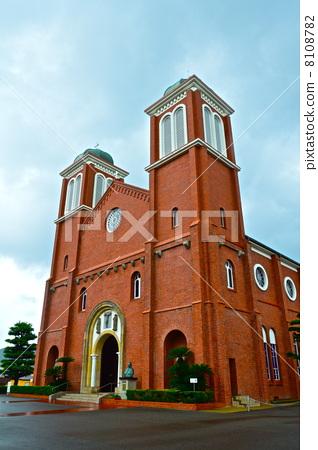 우라 카미 교회 (우라 카미 천주당) (나가사키 현 나가사키시 나가사키시 홍어 도시) 8108782