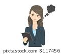 Tablet Business Woman Failure Failure 8117456
