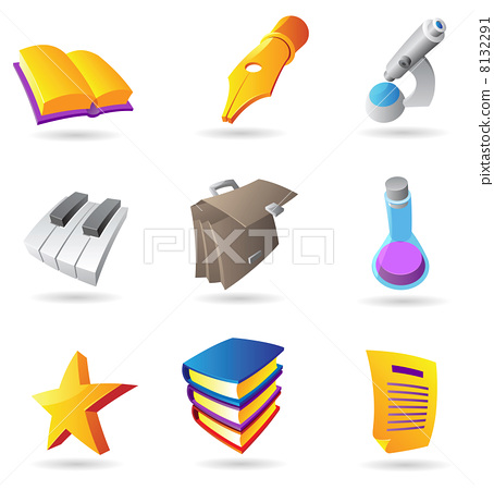 Icons for education and knowlegde 8132291