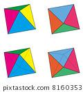 常規八面體集的四種模式 8160353