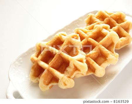 Handmade Belgian waffle 8163529