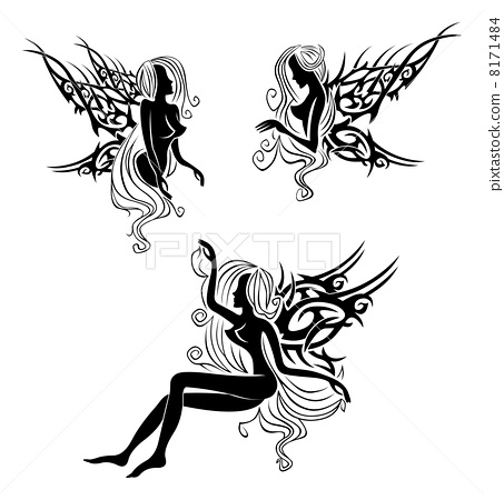 Tattoo with fairies or elves 8171484
