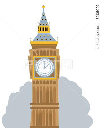 Big Ben Cartoon 8186092