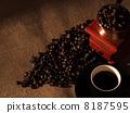 豆 豆子 咖啡 8187595