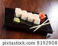 roll, plate, sushi 8192908
