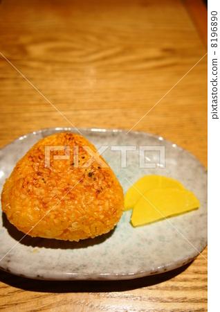 Brown rice balls 8196890