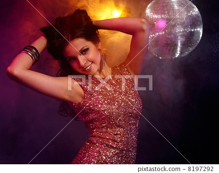 Disco girl 8197292