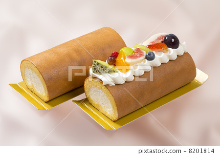 Two types of roll cake 8201814
