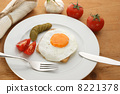 eggs, fried, breakfast 8221378