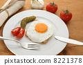eggs fried breakfast 8221378