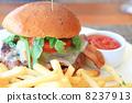 非常美味的美國漢堡包 8237913