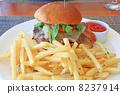 非常美味的美國漢堡包 8237914