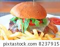 非常美味的美國漢堡包 8237915