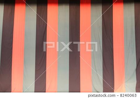 The curtain of Shimbashi performance area 8240063