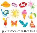 Summer icon 8241403