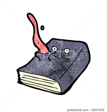 Cartoon Magic Spell Book Stock Illustration 8267659 Pixta