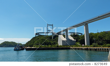 Shimanami Kaido - Oshima south side ~ 8273649