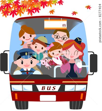 Fall bus tour 8277404