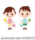 兒童用勺子和水桶 8296910