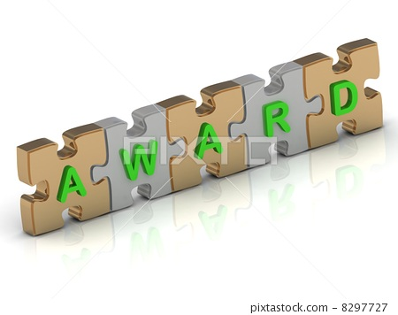 AWARD word of gold puzzle 8297727