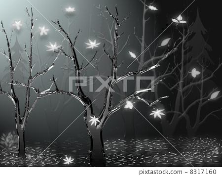 겨울, 겨울의 밤하늘 계절 8317160