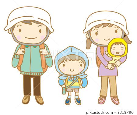 Evacuation training family 8318790