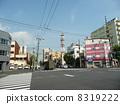 교차로, 도로, 아라카와 구 8319222