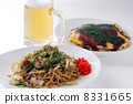 fried noodles, japanese fried noodles, japanese pizza 8331665