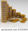 화폐, 동전, 금 8335940