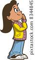 Girl Thinking 8344845
