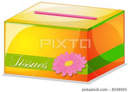 A colorful tissue box 8348995
