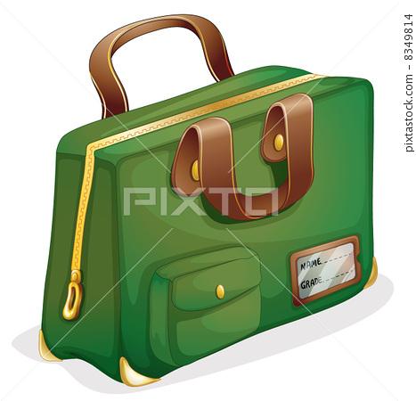 a green bag 8349814