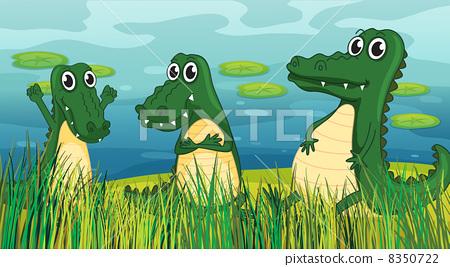 Scary dinosaurs 8350722