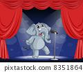 大象 動物 階段 8351864