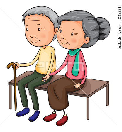 Old couple 8353313