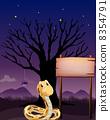 爬行动物 图形 绘画 8354791