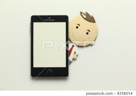 Paper craft smartphone 8358054