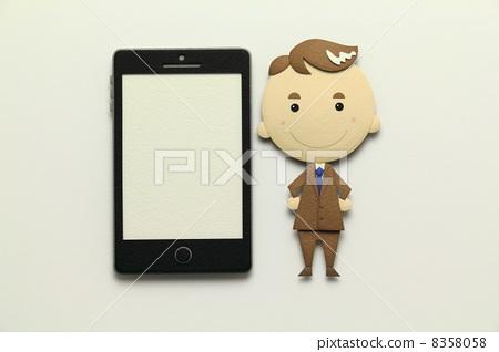 纸工艺智能手机 8358058