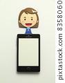 纸工艺智能手机 8358060